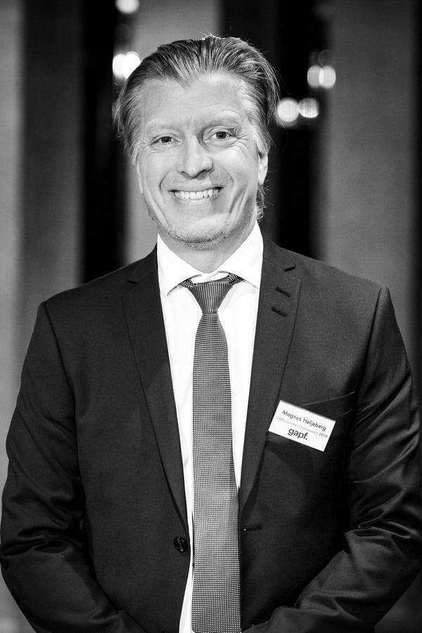Magnus Heljeberg, Goodwill Ambassadör för Riksorganisationen GAPF 2019. Foto: Göran Wallgren.